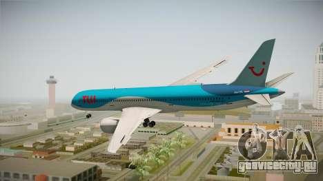 Boeing 787 TUI Airlines для GTA San Andreas вид справа