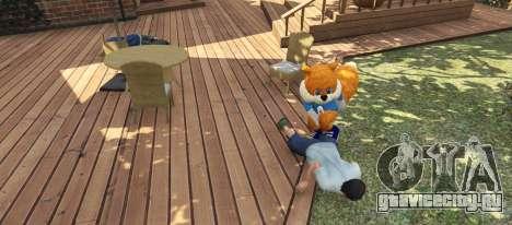 Conker The Squirrel для GTA 5 третий скриншот