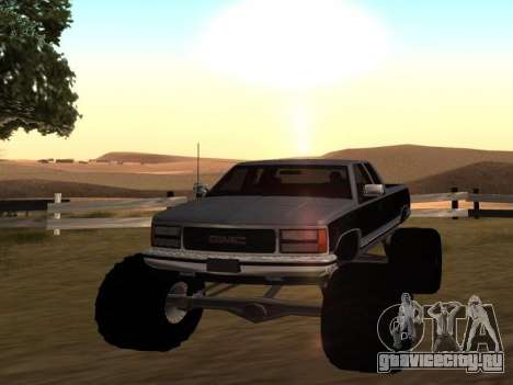 GMC Sierra 2500 Monster 1998 для GTA San Andreas