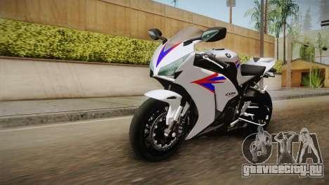 Honda CBR1000RR HRC 2012 для GTA San Andreas вид справа