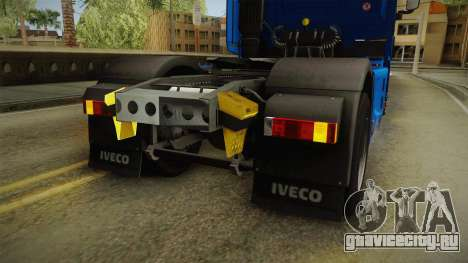 Iveco Stralis Hi-Way 560 E6 4x2 v3.2 для GTA San Andreas салон