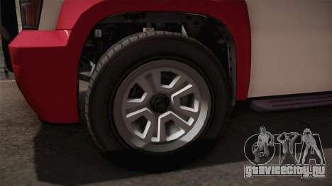 GTA 5 Declasse Granger 2-doors IVF для GTA San Andreas вид сзади