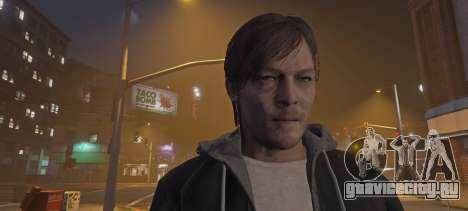Norman Reedus from Silent Hills для GTA 5 второй скриншот