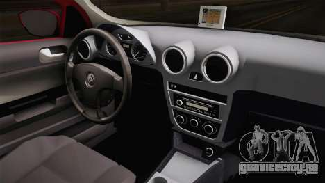Volkswagen Voyage Fix для GTA San Andreas вид изнутри