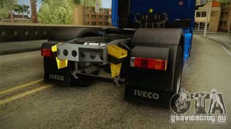 Iveco Stralis Hi-Way 560 E6 4x2 v3.2 для GTA San Andreas вид снизу