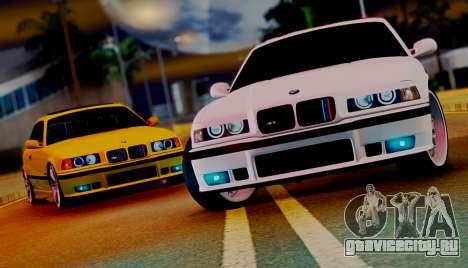 BMW M3 E36 ZLO для GTA San Andreas вид справа