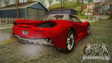 GTA 5 Progen Itali GTB IVF для GTA San Andreas