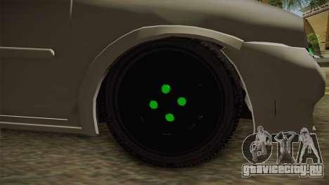 Chevrolet Corsa 1.4 для GTA San Andreas вид сзади