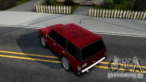 Huntley HD для GTA San Andreas вид сзади