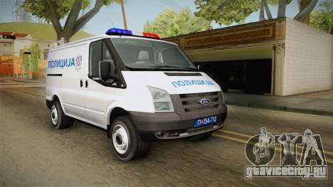 Ford Transit Полиција для GTA San Andreas