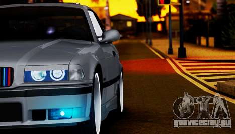 BMW M3 E36 ZLO для GTA San Andreas вид изнутри