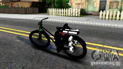 Bici для GTA San Andreas вид слева