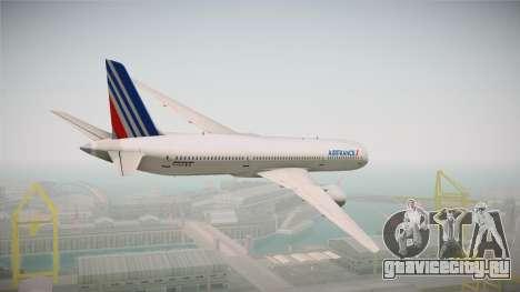 Boeing 787 Air France для GTA San Andreas вид справа