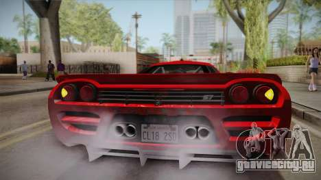 Saleen S7 для GTA San Andreas вид сверху