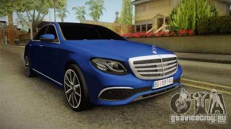 Mercedes-Benz E530 Serbian Mafia для GTA San Andreas вид справа