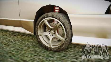 Elegy R32 для GTA San Andreas вид сзади