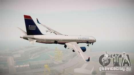 Boeing 757-200 US Airways для GTA San Andreas вид справа