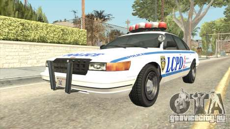 GTA 4 Police Stanier SA Style для GTA San Andreas