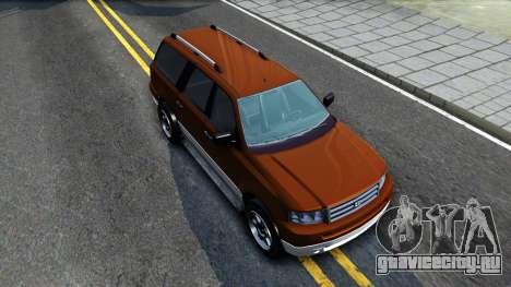 Dundreary Landstal GTA IV для GTA San Andreas вид справа