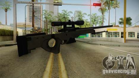 50 Cent: BTS - Bolt Action Sniper Rifle для GTA San Andreas второй скриншот
