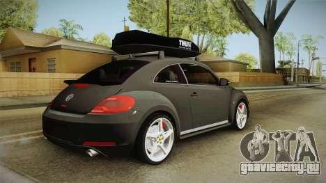 Volkswagen Beetle 2013 Daily Car для GTA San Andreas вид слева