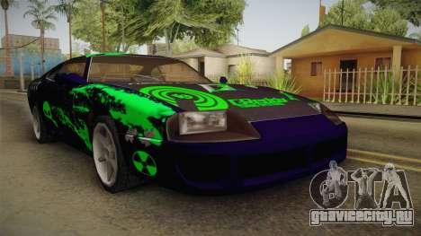 Jester PJ Mutation Drift для GTA San Andreas вид сзади слева
