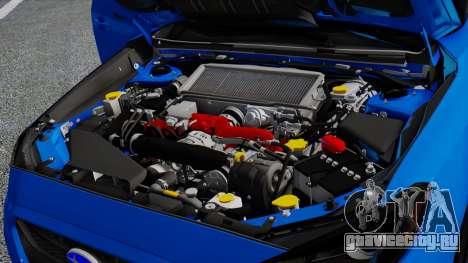 Subaru WRX STi 2017 для GTA San Andreas колёса