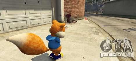 Conker The Squirrel для GTA 5 второй скриншот