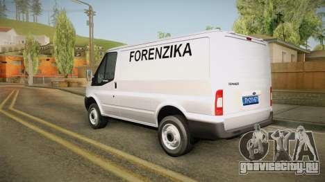 Ford Transit Forenzika для GTA San Andreas вид слева
