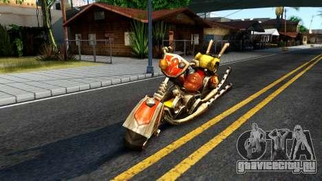 Механоцикл для GTA San Andreas вид слева
