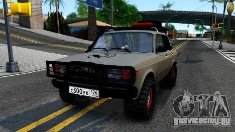 ВАЗ 2107 4X4 для GTA San Andreas