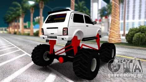 Vaz 2121 Monster Armenian для GTA San Andreas вид слева
