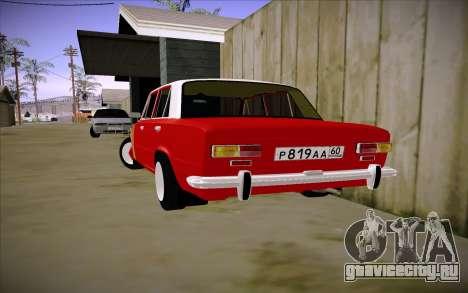 ВАЗ 2101 GVR V3 для GTA San Andreas вид слева