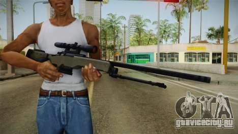 50 Cent: BTS - Bolt Action Sniper Rifle для GTA San Andreas третий скриншот