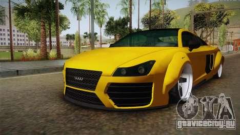 Obey 9F Custom для GTA San Andreas вид справа