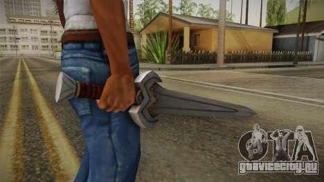 Injustice: Gods Among Us - Amazonian Sword для GTA San Andreas