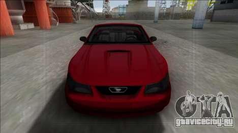 1999 Ford Mustang Cabrio для GTA San Andreas вид справа