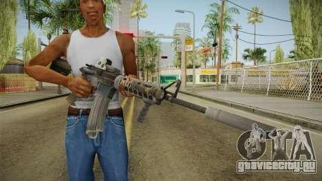 Battlefield 4 - M16A4 для GTA San Andreas третий скриншот