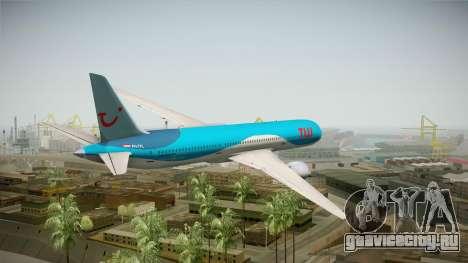 Boeing 787 TUI Airlines для GTA San Andreas вид слева