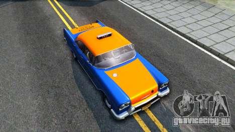 GTA V Declasse Cabbie для GTA San Andreas вид справа