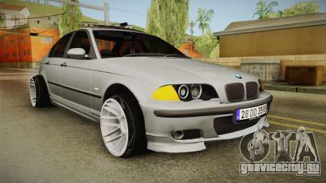 BMW 320d E46 Sedan для GTA San Andreas