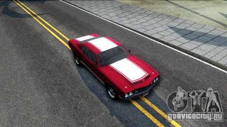 Sabre Turbo GTA 5 для GTA San Andreas вид справа