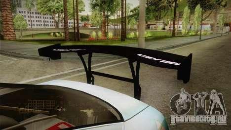 Nissan 380SX Bensopra LL Snow Halation Itasha для GTA San Andreas вид изнутри