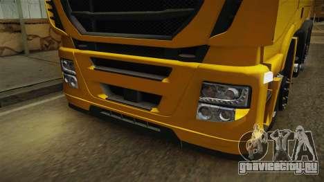 Iveco Stralis Hi-Way 560 E6 6x2 v3.0 для GTA San Andreas вид сверху