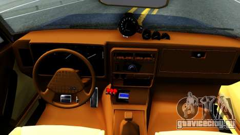 Chevrolet Opala 87 Diplomat Coupe для GTA San Andreas вид изнутри