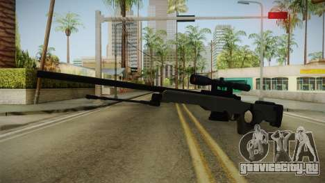 50 Cent: BTS - Bolt Action Sniper Rifle для GTA San Andreas