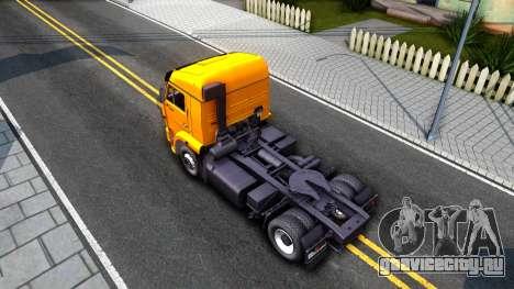 КамАЗ 5460 v2 для GTA San Andreas вид сзади