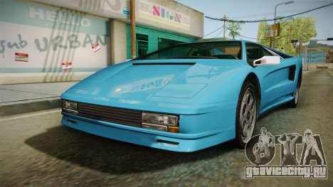 GTA 5 Infernus Classic для GTA San Andreas