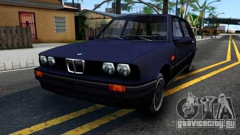 BMW 3-er E30 Touring SA Style для GTA San Andreas