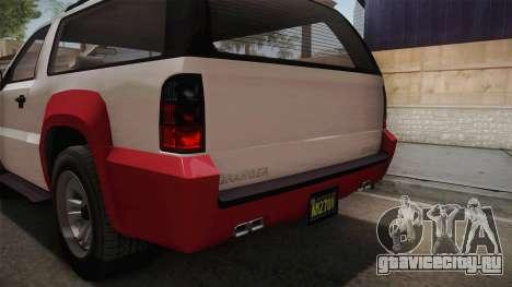 GTA 5 Declasse Granger 2-doors IVF для GTA San Andreas вид снизу
